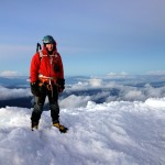 Me on the summit of Cayambe (5790m)