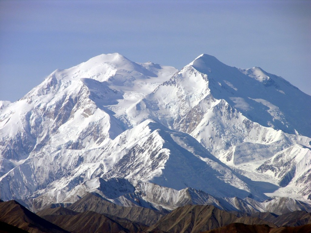 The north side of Denali, from Stony Dome (Photo: Derek Ramsey)