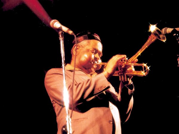 Frank is asking his clients to learn to play the trumpet like jazz legend Dizzy Gillespie (Photo: Wikimedia Commons)