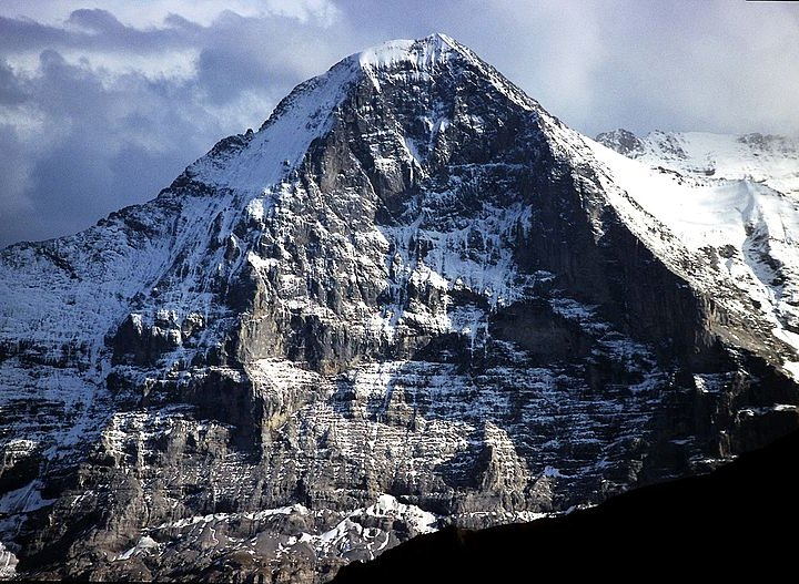 North Face of the Eiger. Not my cup of tea (Photo: Wikimedia Commons)