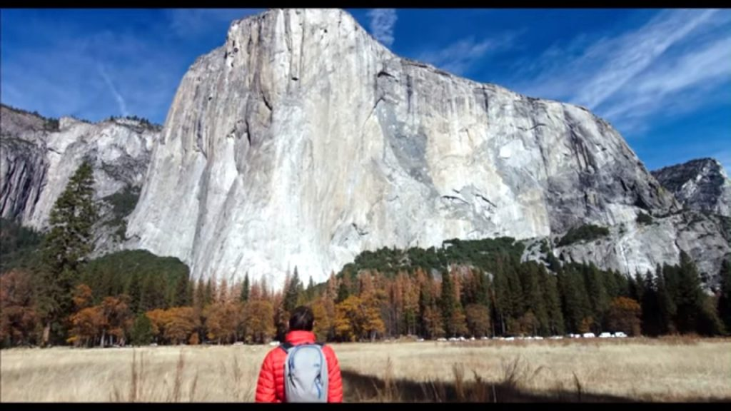 One of my favourite parts of the film was the description of his route up El Capitan