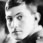 A young George Mallory in 1915, shortly after scaling the Eiffel Tower while on a school trip