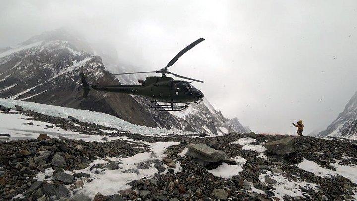 Rescue on Nanga Parbat (Photo: Polski Himalaizm Zimowy)