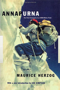 Annapurna by Maurice Herzog, a mountaineering classic