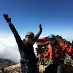 Edita and me on the summit of Iliniza Norte (5126m)