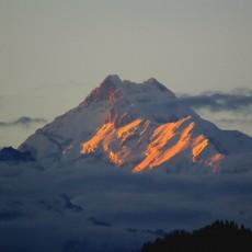 My first visit to Kangchenjunga