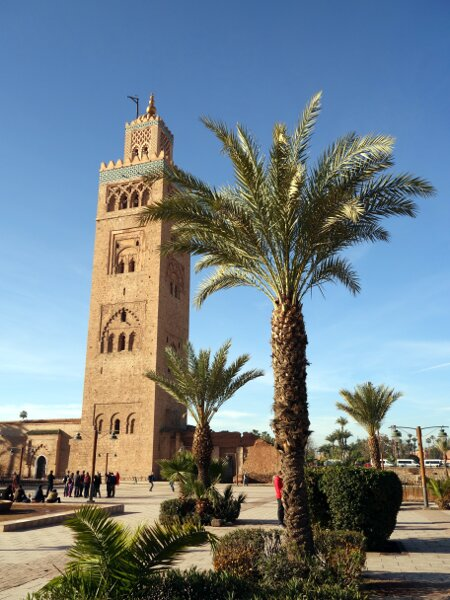 Koutoubia Mosque, Marrakesh's most distinctive landmark