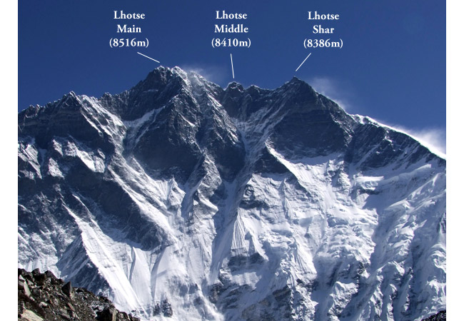 South Face of Lhotse