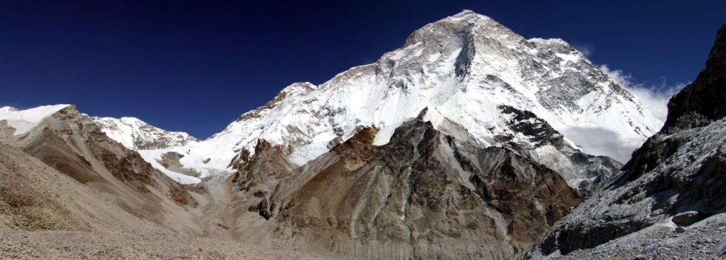 Makalu from below East Col