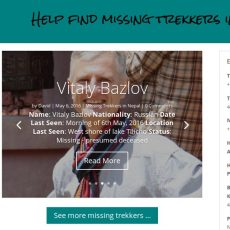 How to report a missing trekker in Nepal