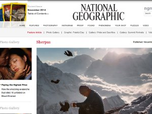 National Geographic has just published a series of articles about this year's Everest tragedy