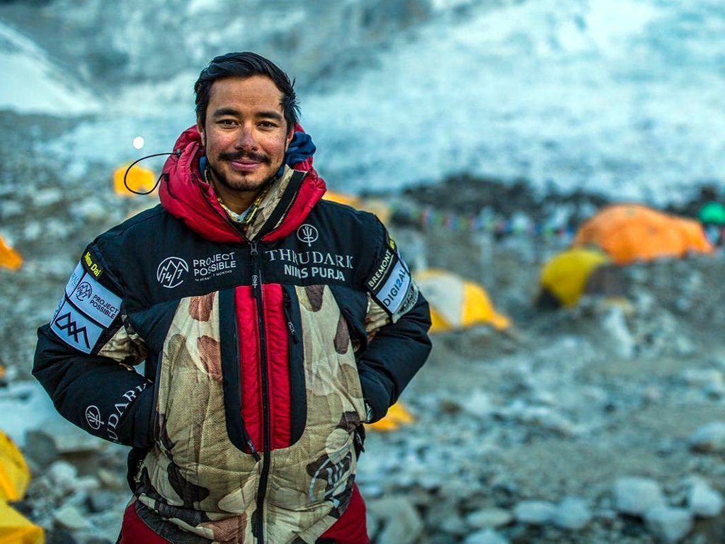 Nirmal Purja, who smashed the record for climbing all fourteen 8,000m peaks in the shortest possible time (Photo: Nirmal Purja / Project Possible)