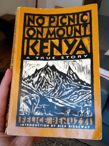 Well worth a read - No Picnic on Mount Kenya by Felice Benuzzi. A mountaineering classic, like no other adventure story.