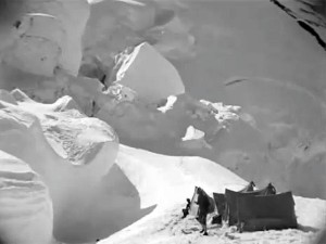 Camp 4 on the North Col of Everest in 1924 (Photo: John Noel)