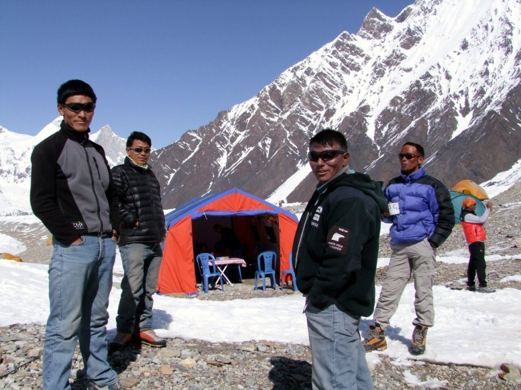 Our Sherpas on Gasherbrum II in Pakistan were true heroes