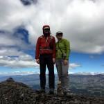 Me and Edita on the summit of Pasochoa Norte (4185m)