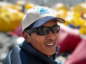 This year Phurba Tashi Sherpa is very likely to break Apa Sherpa's record for the highest number of Everest acents (Photo: Himalayan Experience)
