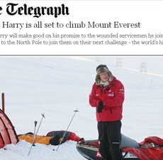 Is Prince Harry really going to climb 'Mount' Everest?