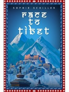 Race to Tibet by indie author Sophie Schiller, about French explorer Gabriel Bonvalot's journey to Lhasa