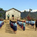 A CHANCE supported school in Nepal's Annapurnas (Photo: CHANCE)