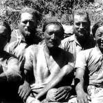 Bill Tilman (second right) with Angtharkay, Eric Shipton, Pasang Bhotia and Kusang (Photo: Bill Tilman)