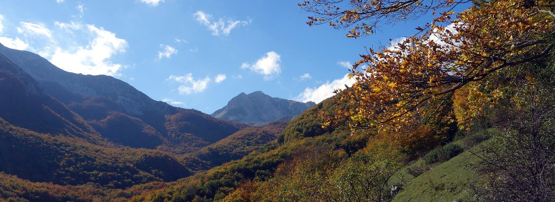 The Abruzzo Quartet: an autumn feast of mountains