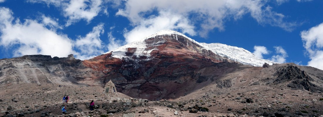 Chimborazo: the furthest from the centre of the Earth