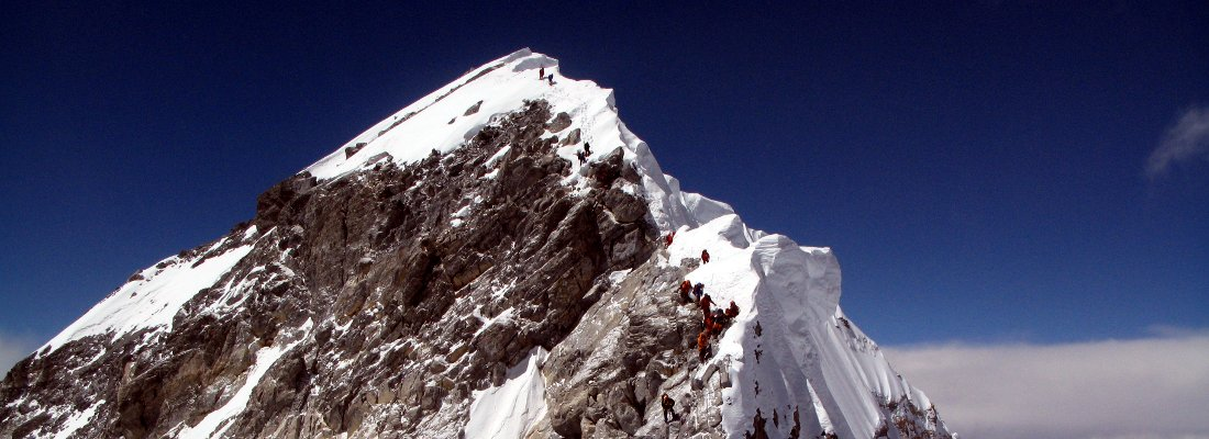 Did the Hillary Step collapse in the Nepal earthquake?