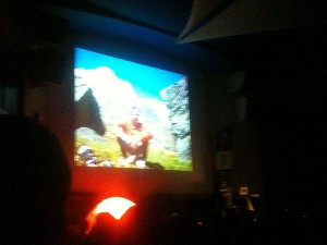 Ueli Steck tells a packed Royal Geographical Society about Annapurna