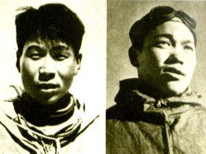 Wang Fu-chou and Chu Yin-hua, the first men to climb Everest from the north (Photo: Salkeld Collection)